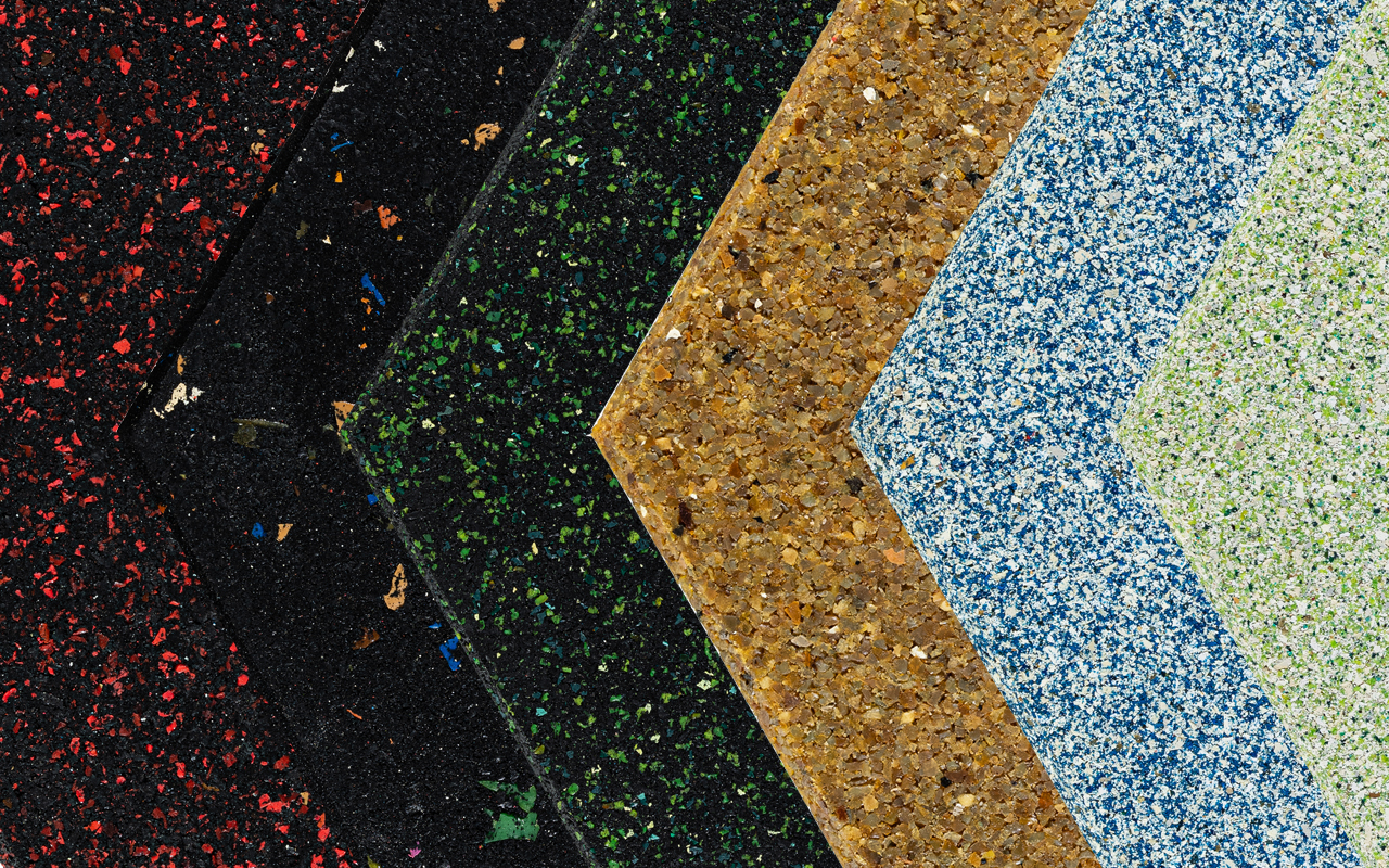 Azulejos ecológicos Goma Rubber